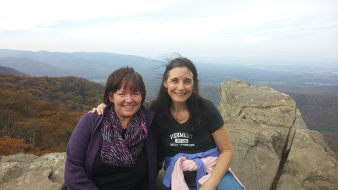 Claudia and I on humpback rocks.jpg