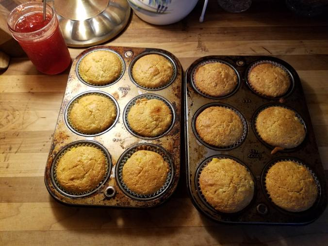 muffins in tins
