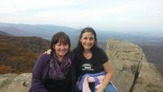 Claudia and me Humpback Rocks Oct 2016.jpg