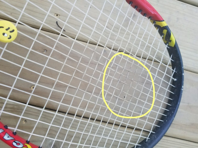 dirty tennis racket_LI